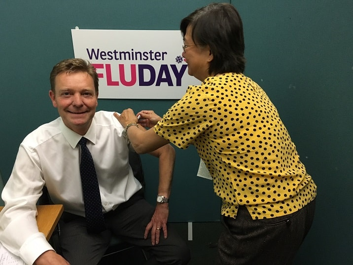 CM at Westminster Flu Day Oct17 – The Isle Of Thanet News