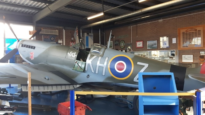Photos and video: The Spitfire simulator at Manston is