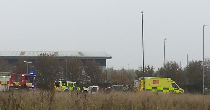 Man Suffers Serious Injuries In Manston Industrial