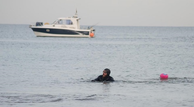 Adventurer completes 157-day, 1,791-mile swim around Britain
