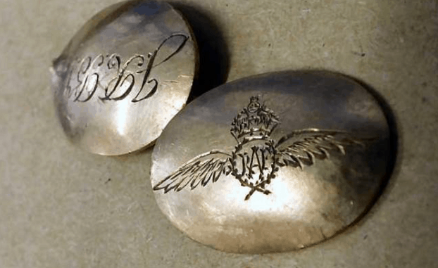 How the discovery of a gold cufflink uncovered the tragic