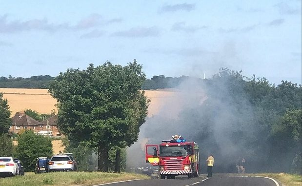 road closures due to fires - photo #21
