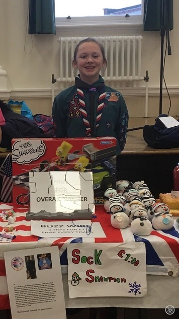 Garlinge Scout Erin's final fundraising push to represent