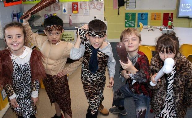 Upton Junior Pupils Explore The Stone